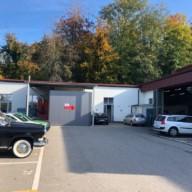 Nos bâtiments de l'atelier mécanique et de la carrosserie
