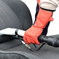 Nettoyage de l'intérieur de la voiture